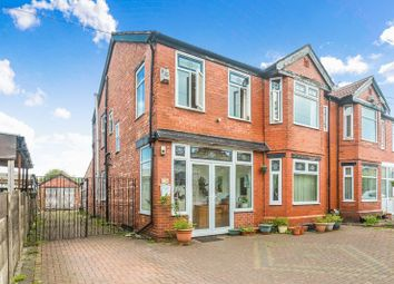 Thumbnail 4 bed semi-detached house for sale in Egerton Road North, Chorlton Cum Hardy, Manchester