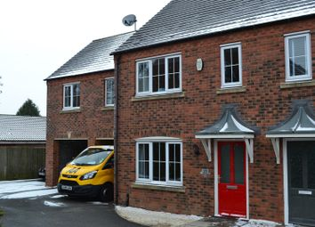 Thumbnail 3 bed town house for sale in Lakeshore Crescent, Whitwick, Coalville