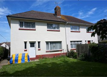 Thumbnail 3 bed semi-detached house for sale in Worbarrow Gardens, Poole
