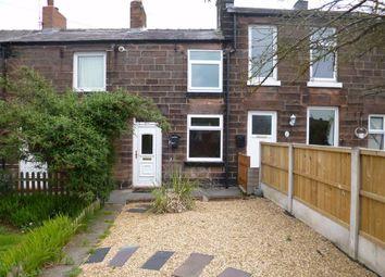 Thumbnail 1 bedroom terraced house to rent in Rosebank Terrace, Leek, Staffordshire