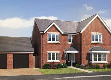 Thumbnail 4 bed detached house for sale in Gateway Avenue, Newcastle Under Lyme, Staffordshire