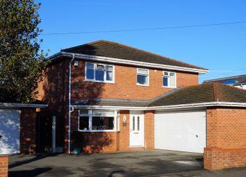 Thumbnail 4 bedroom detached house for sale in Bryn Estyn Road, Wrexham