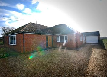 Thumbnail 3 bed detached bungalow for sale in Clough Road, Gosberton Clough, Spalding