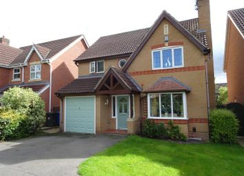 Thumbnail 4 bed detached house for sale in Cloisters Court, Oakwood, Derby