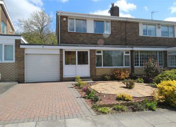 Thumbnail 3 bed semi-detached house for sale in Weetwood Road, Collingwood Chase, Cramlington