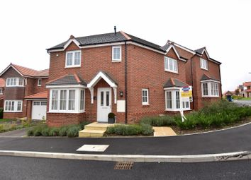 Thumbnail 3 bed detached house for sale in Poppy Field Road, Northop Hall, Mold