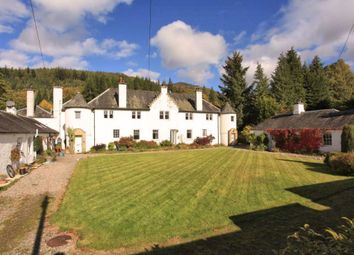 Thumbnail 2 bed flat for sale in 7 The Square, Dunira, Comrie