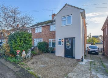 Thumbnail 3 bed semi-detached house for sale in Western Road, Nazeing, Waltham Abbey