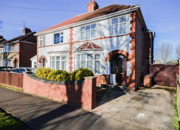 Thumbnail 3 bedroom semi-detached house for sale in Fulbridge Road, Walton, Peterborough