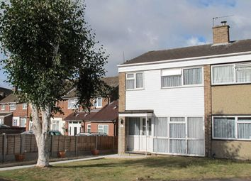 Thumbnail 3 bed semi-detached house to rent in Redwood Close, Colchester