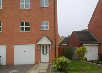 Thumbnail 4 bed end terrace house to rent in Sherbourne Drive, Hilton, Derby