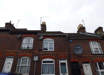 Thumbnail 2 bed terraced house to rent in Tavistock Street, Luton
