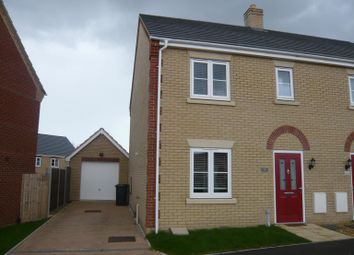 Thumbnail 3 bed semi-detached house to rent in Primrose Avenue, Downham Market