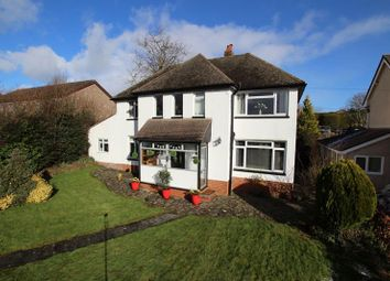 Thumbnail 4 bed detached house for sale in Cradoc Road, Brecon