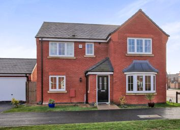 Thumbnail 4 bedroom detached house for sale in Loch Lomond Way, Peterborough