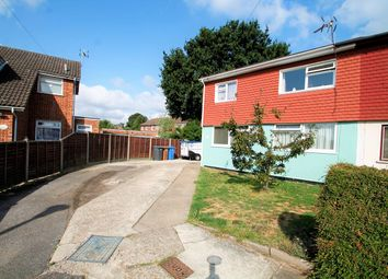 Thumbnail 3 bed semi-detached house for sale in Quentin Close, Ipswich