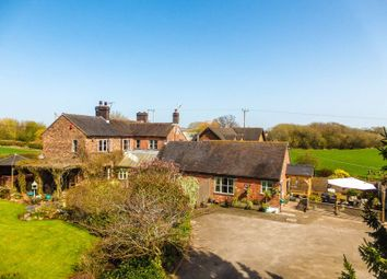 Thumbnail 4 bed equestrian property for sale in Churchfields, Newcastle Road, Woore, Crewe