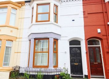Thumbnail 3 bed terraced house for sale in Errol Street, Aigburth, Liverpool