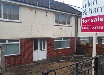 Thumbnail 2 bedroom flat for sale in Moorland Crescent, Beddau, Pontypridd