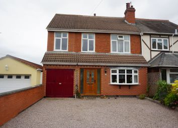 Thumbnail 4 bed semi-detached house for sale in Colby Road, Leicester