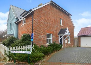 Thumbnail 2 bed semi-detached house for sale in Springfield Drive, Rye