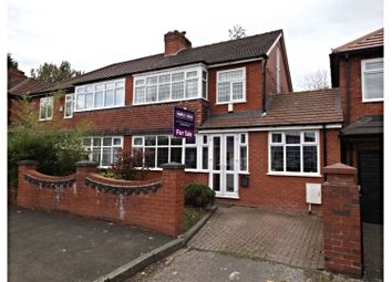 Thumbnail 4 bed semi-detached house for sale in Norman Road, Ashton-Under-Lyne