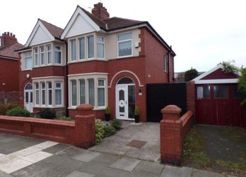 Thumbnail 3 bedroom semi-detached house for sale in Hodgson Road, Blackpool, Lancashire