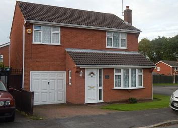 Thumbnail 4 bed detached house for sale in Maplewell Drive, Leicester