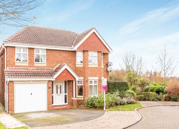 Thumbnail 4 bed detached house for sale in Wavell Close, Worksop