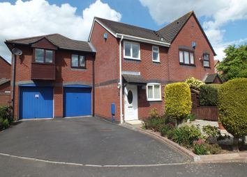 Thumbnail 2 bedroom terraced house to rent in Wilton Way, Barton Grange, Exeter, Devon