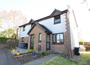 Thumbnail 2 bed semi-detached house for sale in Belfield Avenue, East Calder, Livingston, West Lothian