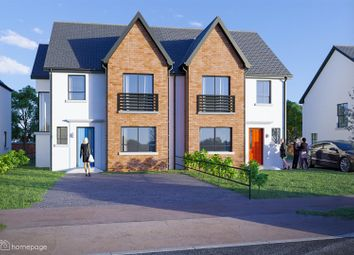 Thumbnail 4 bed semi-detached house for sale in The Dermott, Butlers Wharf, Derry