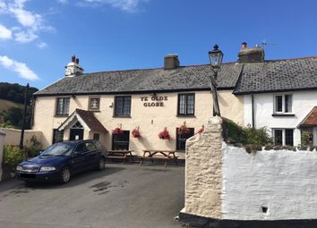 Thumbnail Pub/bar for sale in Ye Olde Globe Inn, Berrynarbor, Ilfracombe, Devon