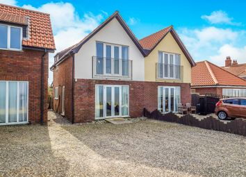 Thumbnail 2 bed semi-detached house for sale in Beaucourt Place, Walcott, Norwich