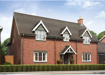 Thumbnail 5 bed detached house for sale in Armscote Road, Newbold-On-Stour, Warwickshire