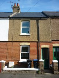 Thumbnail 2 bed terraced house to rent in Glebe Road, Garlinge Margate