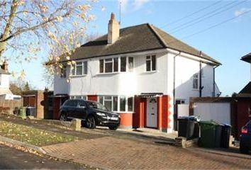 Thumbnail 3 bedroom semi-detached house to rent in Elms Lane, Wembley
