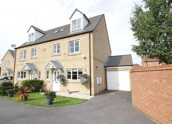 Thumbnail 4 bed semi-detached house for sale in Bracken Court, Sherburn In Elmet, Leeds
