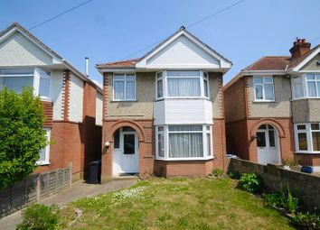 Thumbnail 3 bedroom detached house for sale in Sheringham Road, Branksome, Poole