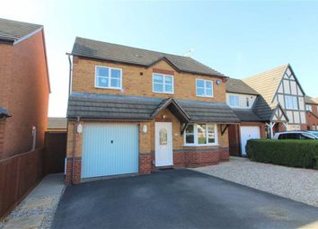 Thumbnail 4 bed detached house for sale in Merlin Drive, Quedgeley, Gloucester