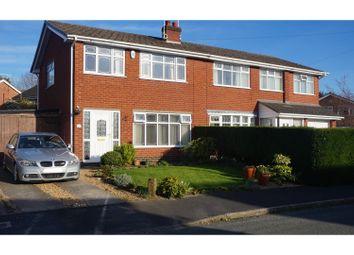 Thumbnail 3 bed semi-detached house for sale in Cowper Close, Wistaston