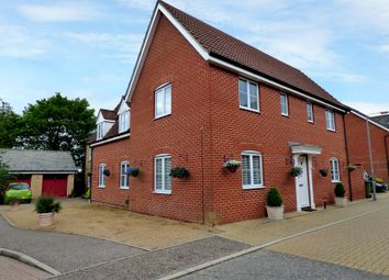 Thumbnail 4 bed detached house for sale in Upgate, Long Stratton, Norwich