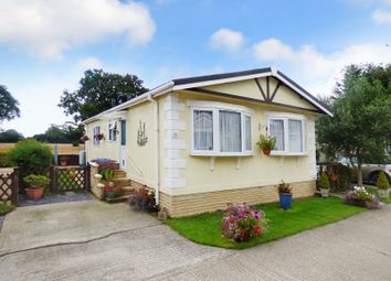 Thumbnail 2 bed mobile/park home for sale in Silver Lakes, Drayton Lane, Drayton, Chichester