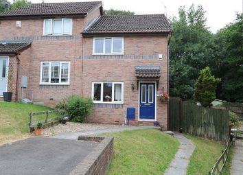 Thumbnail 2 bed semi-detached house for sale in Heol Ynys Ddu, Caerphilly, Caerffili