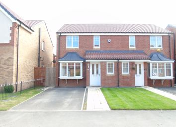 Thumbnail 3 bed semi-detached house to rent in Rothbury Drive, Ashington