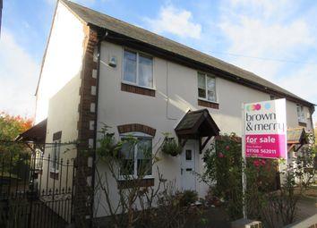 Thumbnail 4 bed semi-detached house for sale in Stratford Road, Nash, Milton Keynes