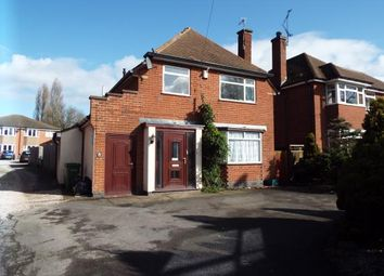 Thumbnail 3 bed detached house for sale in Aylestone Lane, Wigston, Leicester, Leicestshire