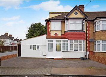 Thumbnail 3 bed flat for sale in Elms Park Avenue, Wembley, Middlesex