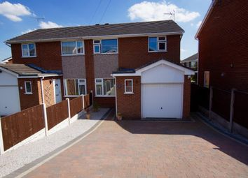 Thumbnail 3 bed semi-detached house to rent in Mile Barn Road, Wrexham