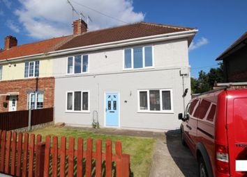 Thumbnail 3 bedroom end terrace house for sale in School Road, Langold, Worksop